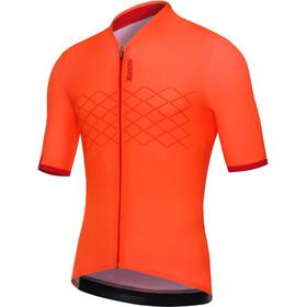 Santini Redux Jersey SS Herr arancio fluo